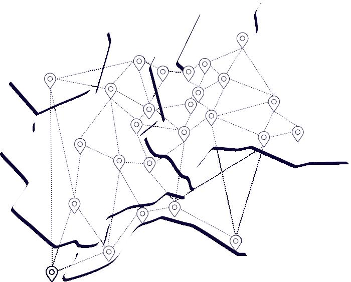 Mappa giornali network More News