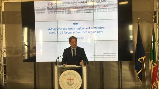 """Modifiche alla legge regionale sull'Urbanistica, Marco Scajola: """"Azioni concrete per delineare la Liguria dei prossimi 20 anni"""" (VIDEO)"""