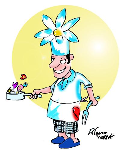 """""""Buon appetito… fiorellino"""" c'è tempo fino al 31 gennaio per iscriversi al primo contest nazionale dedicato alla cucina con i fiori. L'azienda Alessi sponsor della manifestazione."""