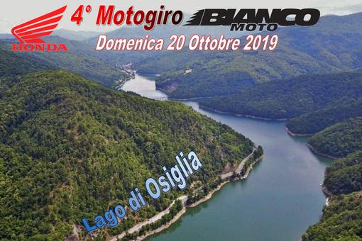 Quarto Motogiro Bianco Moto Cuneo: la manifestazione, aperta a tutti, avrà come meta il Lago di Osiglia