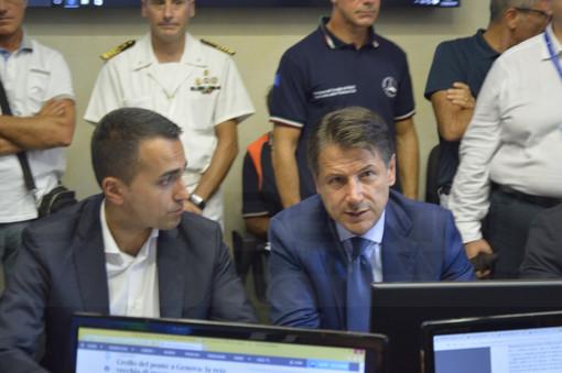 Conte, Di Maio e Salvini a Genova per consiglio dei ministri straordinario