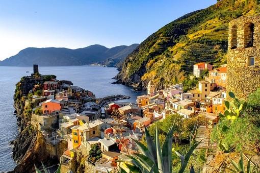 Uno dei borghi più belli: Vernazza e le Cinque Terre