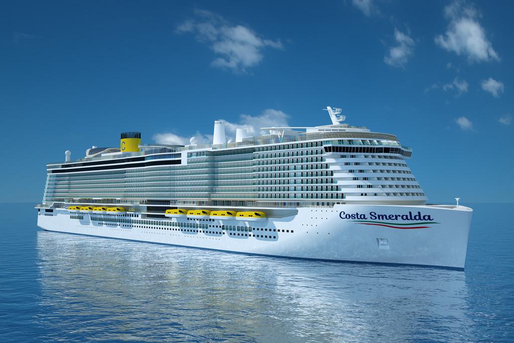 Inizia la costruzione di Costa Smeralda: la prima nave da crociera alimentata a LNG