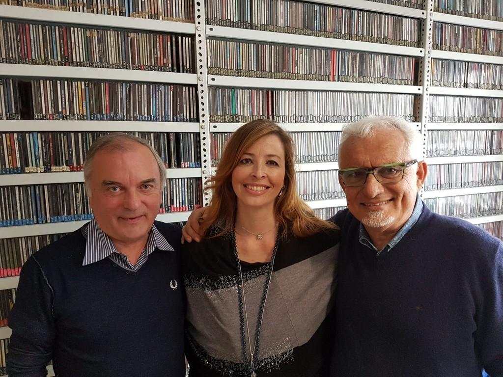 """I Fieui di Caruggi a Radio Onda Ligure per parlare della """"Settimana della fionda"""""""