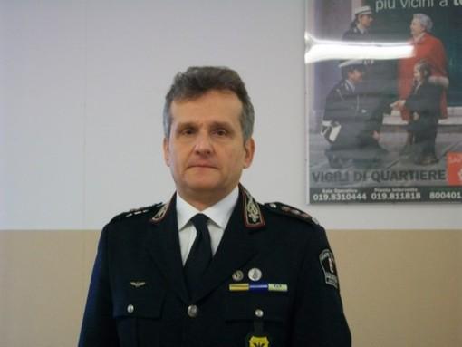 Igor Aloi, comandante della polizia municipale di Savona