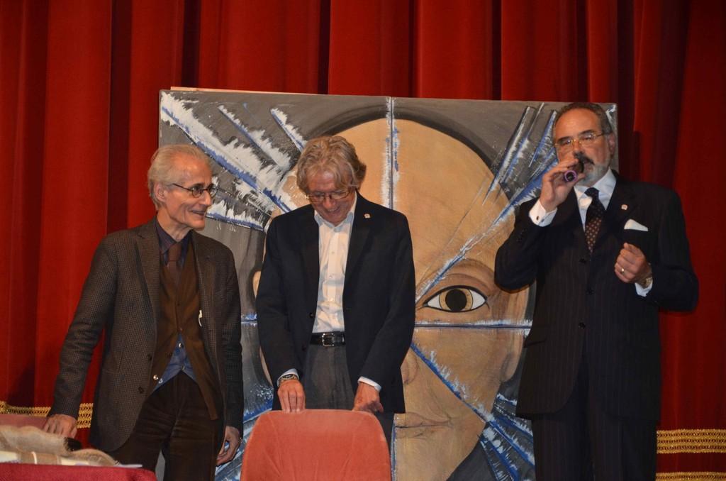 Luciano Canfora riceve il premio Inquieto dell'Anno