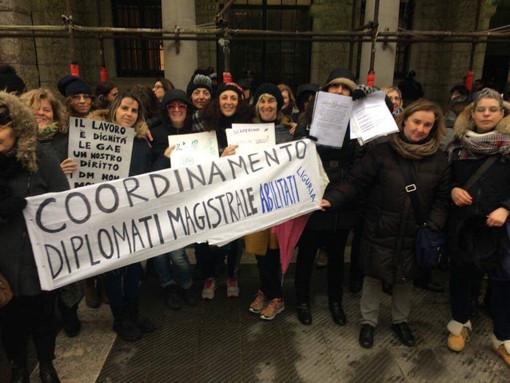 Larga adesione per lo sciopero degli insegnanti