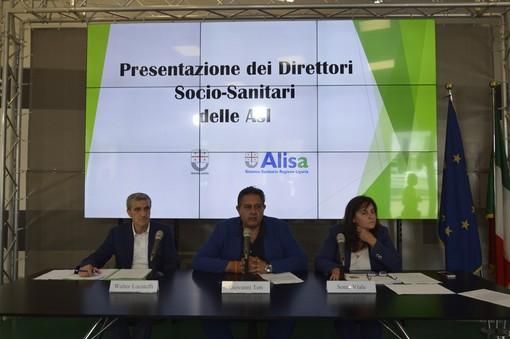 Nominati oggi i nuovi direttori sociosanitari delle Asl liguri