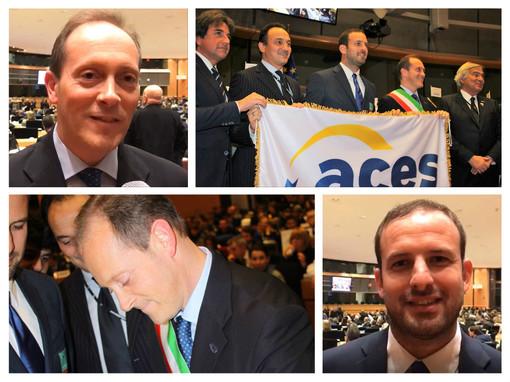 """Bruxelles incorona Andora come Città Europea dello Sport. Demichelis e Rossi in coro: """"Un premio per le nostre associazioni"""" (FOTO E VIDEO)"""