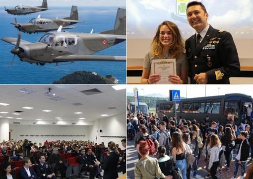 Concluso il corso di Cultura Aeronautica promosso nelle scuole. Miglior risultato per Ginevra Mignano del Liceo Amoretti (Foto e Video)