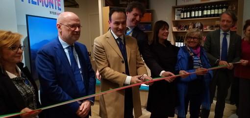 """""""Piemonte in your hands"""": all'aeroporto di Caselle inaugurato il nuovo spazio di promozione turistica"""