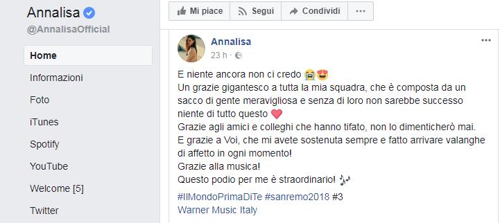 Sanremo 2015 secondo la snai il favorito per il prossimo for Porta quote scommesse