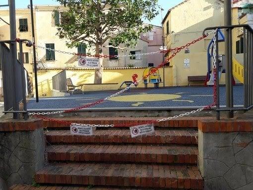 Albissola: il sindaco proroga l'ordinanza di chiusura dei parchi giochi, parchi comunali e cimiteri