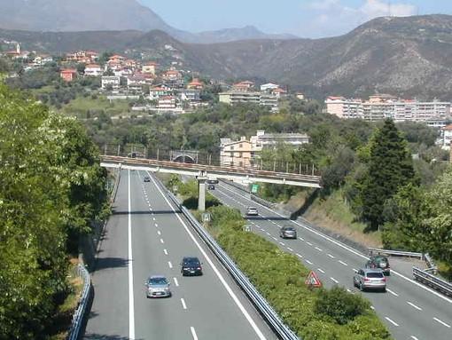 Ripristinate due corsie in prossimità del viadotto Generale Franco Romano in carreggiata direzione Savona