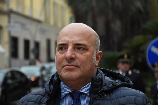 L'assessore regionale Berrino Roma per la manifestazione del centrodestra contro il Governo giallorosso