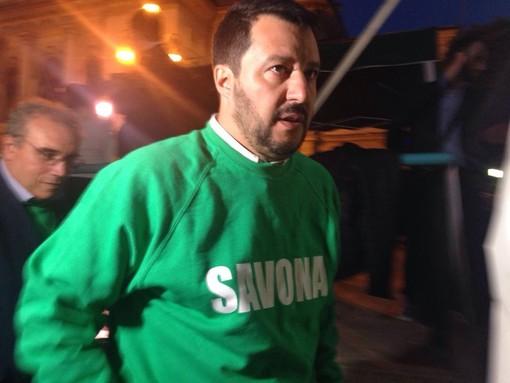 """Almeno 50 gazebo della Lega in Liguria, Salvini: """"E' la risposta al Governo delle poltrone"""""""