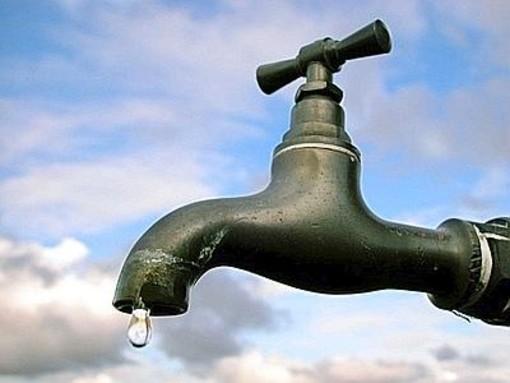 Alassio, sospensione urgente della fornitura di acqua