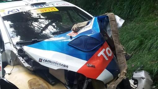 Incidente rallistico a Bajardo: il campione Paolo Andreucci in ospedale a Pietra Ligure