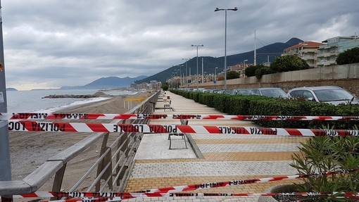 Loano, ultimati i lavori di consolidamento: riapre la passeggiata a mare di ponente