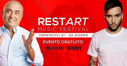 """Cengio, musica in piazza con il """"Restart Music Festival"""": il programma per sabato 22 giugno"""