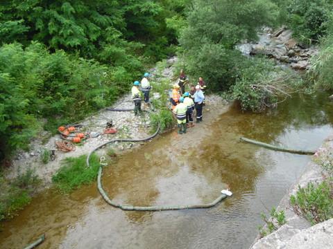 Idrocarburi nel rio Garbini a Varazze: intervento di messa in sicurezza - SavonaNews.it
