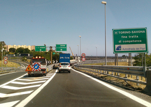 R24 complanare, regolarmente aperto l'allacciamento con la A6 e l'entrata della stazione di Savona