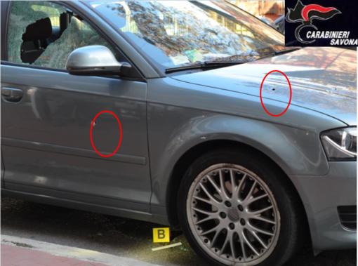 Auto crivellata di colpi ad Albisola, condannato a 4 anni di carcere