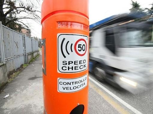 Albenga, ecco l'elenco delle strade in cui si effettueranno i controlli di velocità con apparecchiatura Autovelox