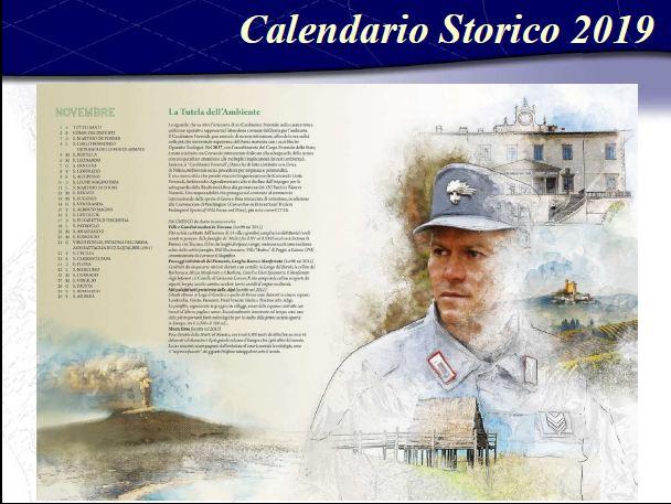 Calendario Storico Carabinieri 2019.Savona Presentato Il Calendario Storico 2019 Dell Arma Dei