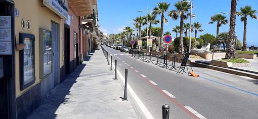 Loano, richiesto un finanziamento da 500mila euro per realizzare un nuovo marciapiede in corso Roma