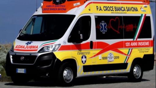 Savona: la Croce Bianca compie 120 anni ed inaugura una nuova ambulanza