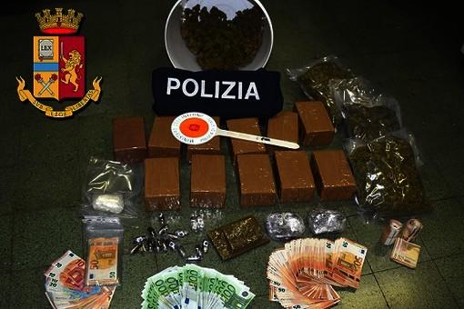 Sequestro di oltre 15 kg di marijuana a Ellera: il Gip dispone i domiciliari per Pedemonte, rimane in carcere Franzè