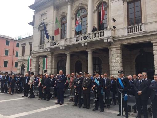"""Savona, Piazza Sisto IV ha ospitato le celebrazioni della """"Festa della Repubblica"""""""