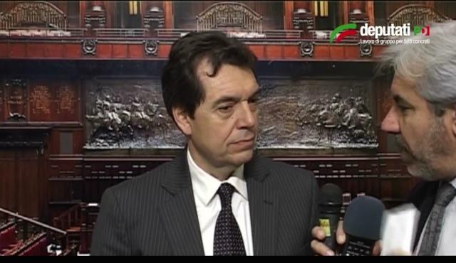 Franco vazio interverr oggi come relatore alla camera for Oggi alla camera