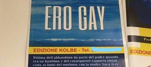 """Manifesto antigay in uno studio medico a Savona, Mirko Principato (pres. Arcigay): """"Chiediamo la sospensione di questo dottore"""""""