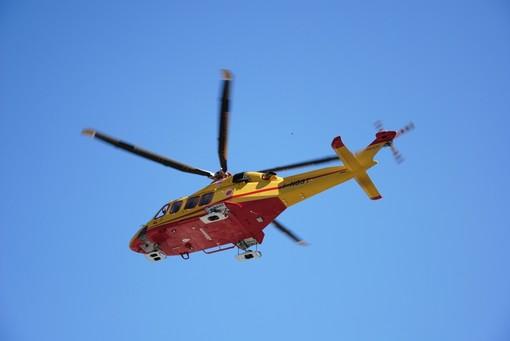 Sassello, incidente motociclistico, richiesto intervento elicottero