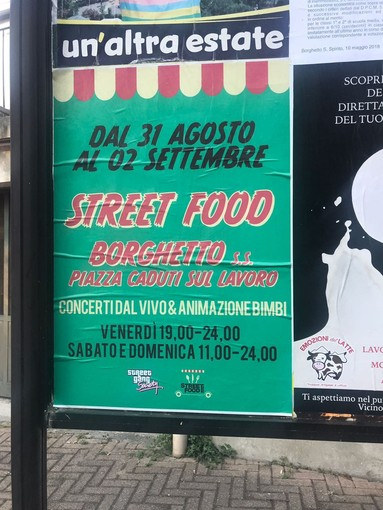 """La """"Street Gang"""" replica a ViviBorghetto per la manifestazione di Street Food"""