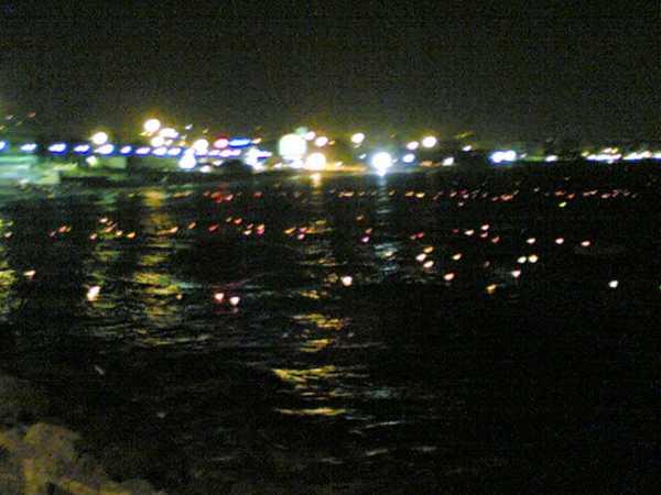 Alassio venerdì sera illuminazione del mare savonanews.it