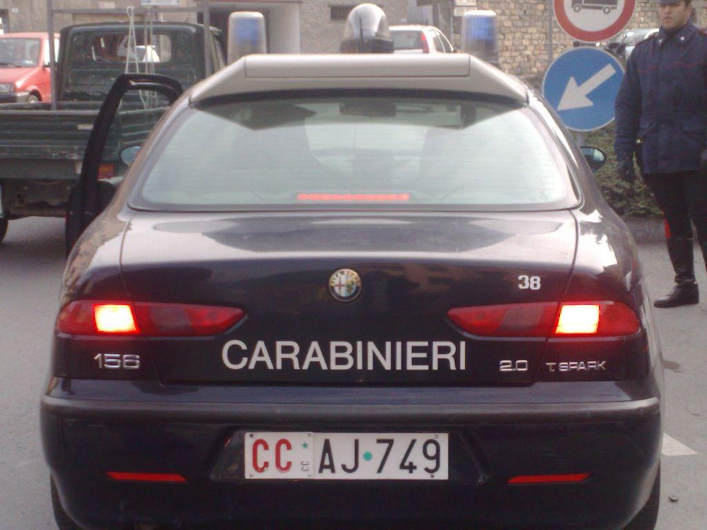 Controlli dei Carabinieri in tutta la Riviera: sventati furti, uso di stupefacenti e guida in stato di ebbrezza