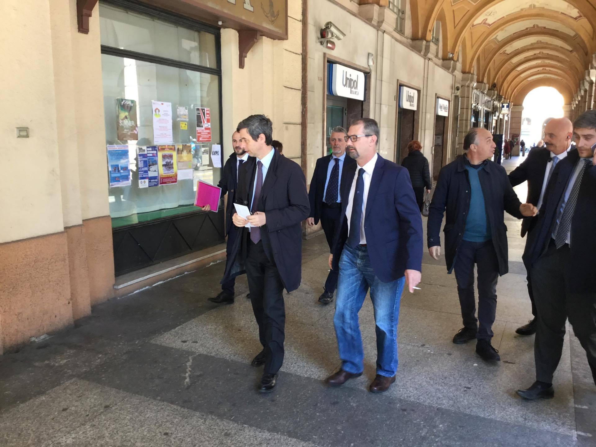 """Entrano nel vivo le primarie del Pd: Andrea Orlando a Savona: """"Mi aspetto un rovesciamento dei risultati ricevuti nei circoli"""""""