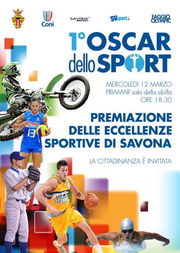 L'Oscar dello Sport è pronto a sbarcare a Savona, mercoledì 12 marzo la prima edizione presso la fortezza del Priamar