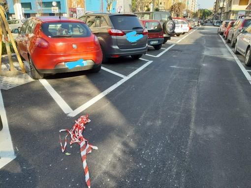 """Savona, i parcheggi """"ridotti"""" di corso Tardy e Benech verranno rifatti, assessore Santi: """"Nessuna spesa per il comune"""""""