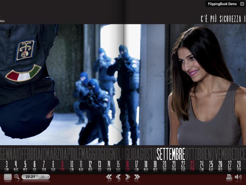 Calendario della polizia di stato 2012 le immagini - Foto della polizia citazioni ...