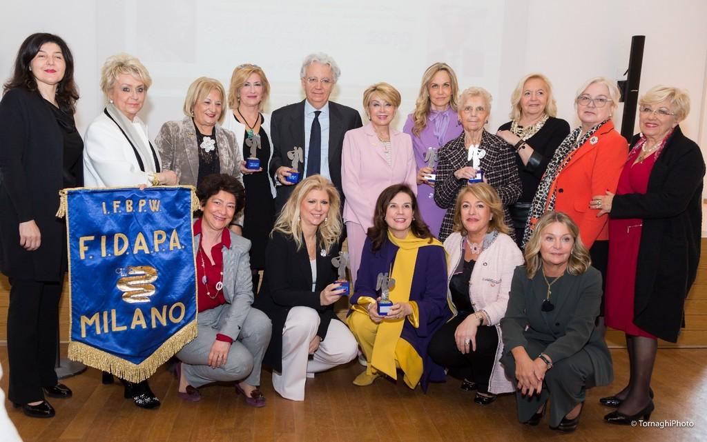 Premio Donna MILANO FIDAPA BPW Italy 2019 per la Giornata