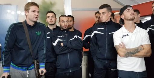 """Calcio, Savona. Clamorosa protesta dei giocatori nei confronti della società: """"Ora vogliamo i fatti"""" (VIDEO)"""