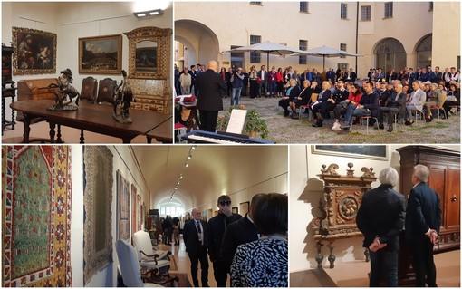 Saluzzo, la 42esima mostra di Antiquariato alza il profilo e trova l'ambiente ideale alla Castiglia