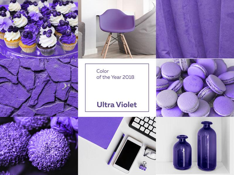 225e9054bfa5 Il colore di tendenza per il 2018 sarà il viola  5 colori con cui abbinarlo
