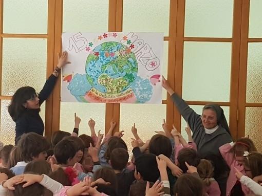 Il 'Global Strike For Future' arriva anche ad Alassio tra i bambini della scuola Maria Ausiliatrice