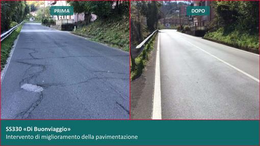 """""""Piano Rientro Strade"""" di Anas: 273 km di interventi in Liguria"""
