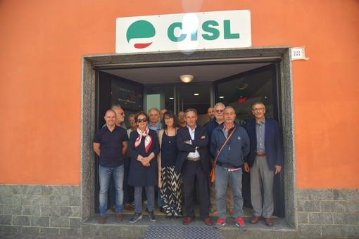 Carcare, inaugurata la nuova sede CISL (FOTO)